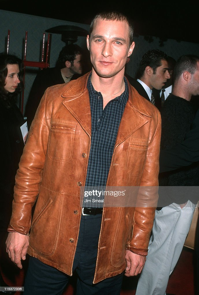 <a gi-track='captionPersonalityLinkClicked' href=/galleries/search?phrase=Matthew+McConaughey&family=editorial&specificpeople=201663 ng-click='$event.stopPropagation()'>Matthew McConaughey</a> during 'Edtv' Los Angeles Premiere at Universal Amphitheatre in Universal City, California, United States.