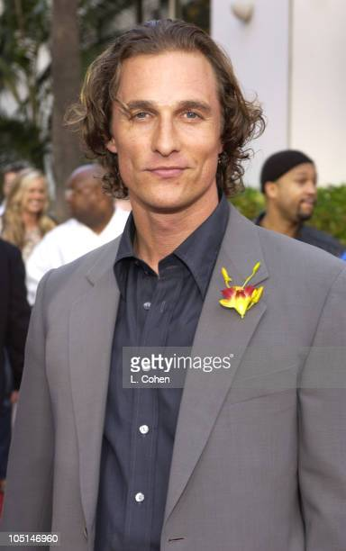 Matthew McConaughey during The World Premiere Of '2 Fast 2 Furious'Red Carpet Arrivals at Universal Amphitheatre in Universal City California United...