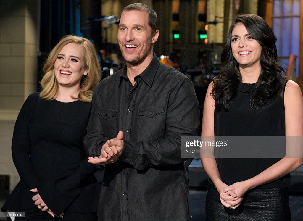 "NBC's ""Saturday Night Live"" with guests Matthew McConaughey, Adele"