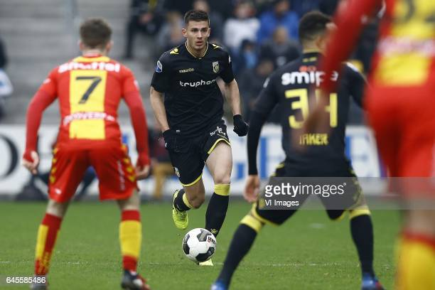 Matthew Miazga of Vitesse Arnhemduring the Dutch Eredivisie match between Go Ahead Eagles and Vitesse Arnhem at The Adelaarshorst on February 26 2017...