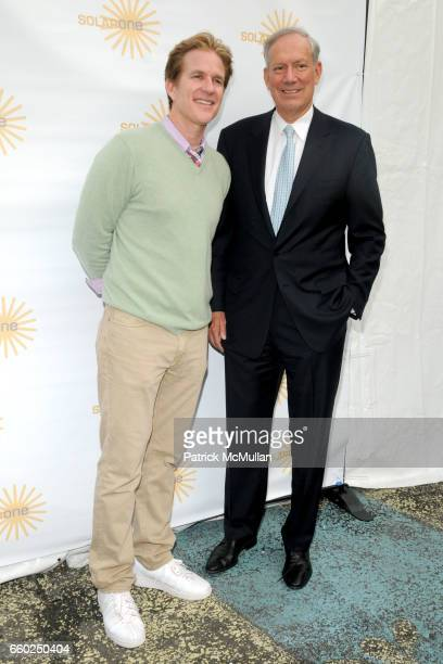 Matthew Modine and George Pataki attend SOLAR 1's Revelry By The River Honors MATTHEW MODINE KICK KENNEDY HSBC at Stuyvesant Cove on June 2 2009 in...