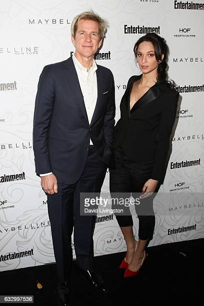 Matthew Modine and Ruby Modine arrive at the Entertainment Weekly celebration honoring nominees for The Screen Actors Guild Awards at the Chateau...