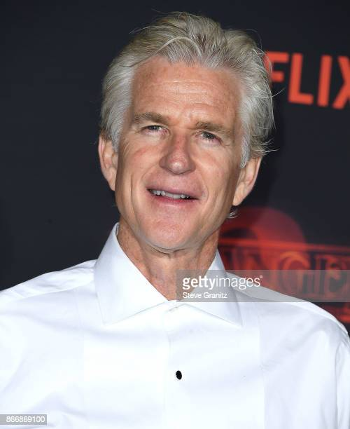 Matthew Modine arrives at the Premiere Of Netflix's 'Stranger Things' Season 2 at Regency Bruin Theatre on October 26 2017 in Los Angeles California