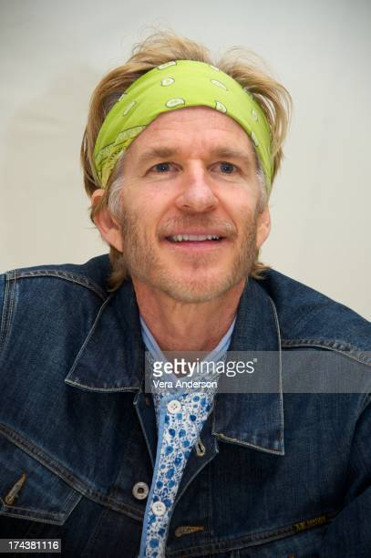 Matthew Modine at the 'Jobs' Press Conference at the Four Seasons Hotel on July 24 2013 in Beverly Hills California