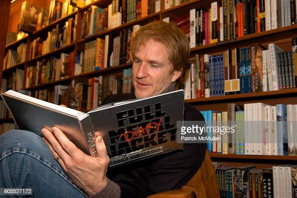 Matthew Modine attends Matthew Modine Book Signing for FULL METAL JACKET DIARY at Barnes Noble Book Store on January 4 2006 in New York City