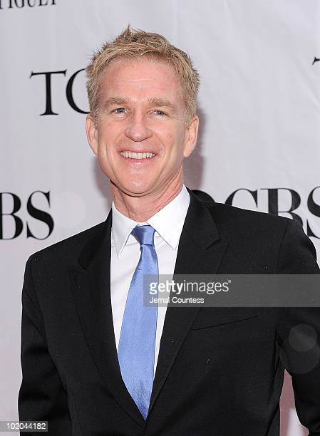 Matthew Modine attends the 64th Annual Tony Awards at Radio City Music Hall on June 13 2010 in New York City