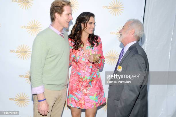 Matthew Modine Brooke Shields and Christopher Collins attend SOLAR 1's Revelry By The River Honors MATTHEW MODINE KICK KENNEDY HSBC at Stuyvesant...