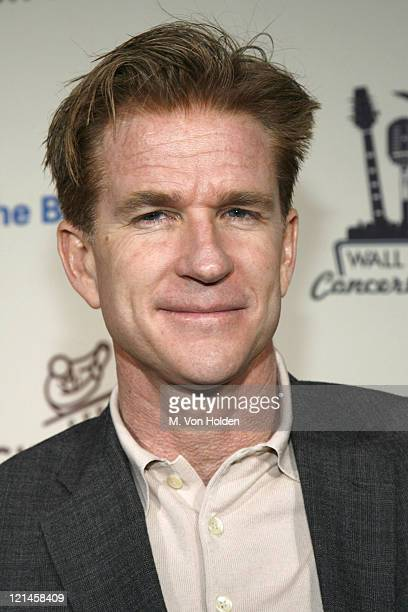 Matthew Modine during Cipriani Concert Series Lionel Richie at Cipriani Wall Street in New York NY United States