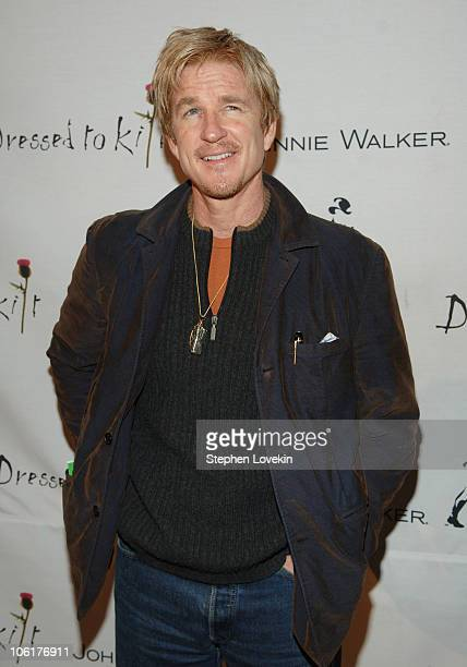 Matthew Modine during Johnnie Walker 'Dressed To Kilt' 2007 at Capitale in New York City New York United States