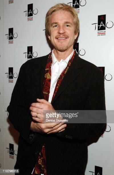 Matthew Modine during Matthew Modine Celebrates Birthday at TAO Asian Bistro Red Carpet at The Venetian Resort Hotel and Casino at TAO Asian Bistro...
