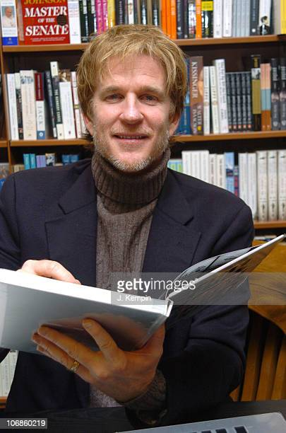 Matthew Modine during Matthew Modine Signs His Book 'Full Metal Jacket Diary' at Barnes Noble in New York City January 4 2006 at Barnes Noble 8th...