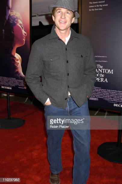 Matthew Modine during Premiere of 'The Phantom of the Opera' New York at The Ziegfeld Theatre in New York City New York United States