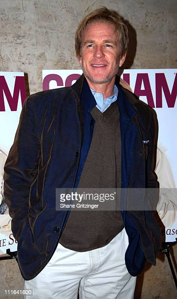 Matthew Modine during Spring Into the Season with Gotham Magazine and Mariska Hargitay March 21 2007 at The Four Seasons Restaurant in New York City...