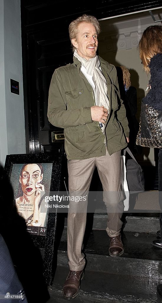 <a gi-track='captionPersonalityLinkClicked' href=/galleries/search?phrase=Matthew+Modine&family=editorial&specificpeople=211363 ng-click='$event.stopPropagation()'>Matthew Modine</a> is seen leaving the Voena Gallery, Mayfair on February 6, 2014 in London, England.
