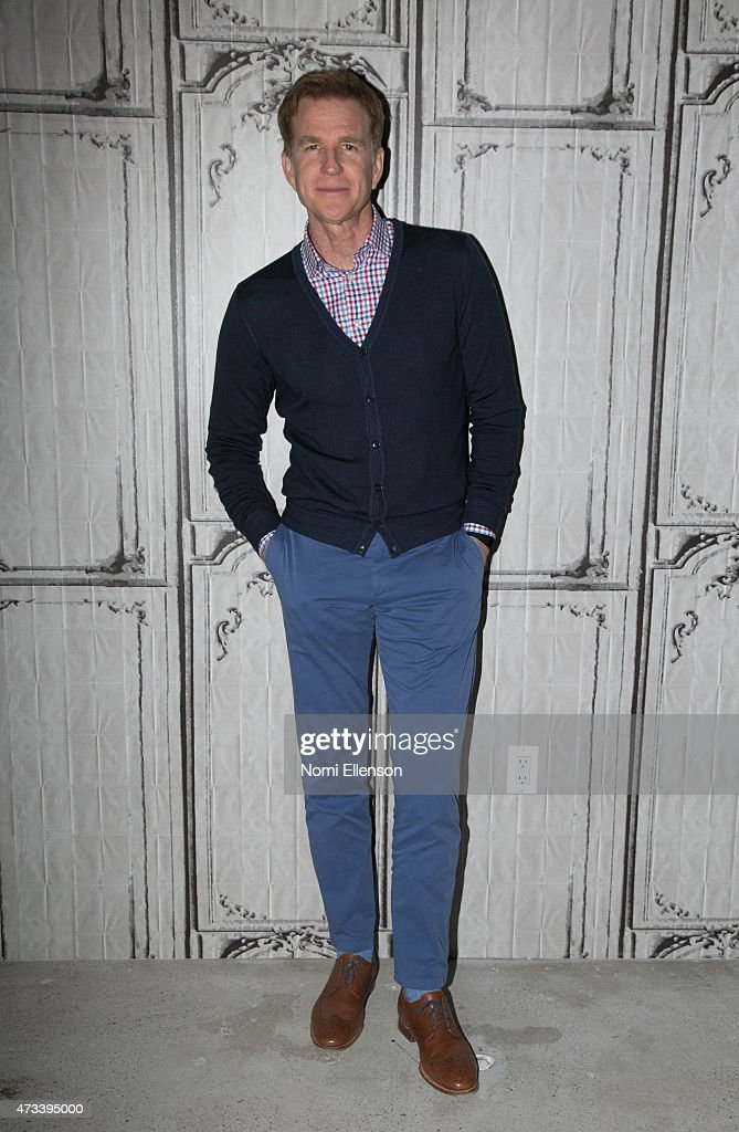 <a gi-track='captionPersonalityLinkClicked' href=/galleries/search?phrase=Matthew+Modine&family=editorial&specificpeople=211363 ng-click='$event.stopPropagation()'>Matthew Modine</a> Visits AOL Build at AOL Studios In New York on May 14, 2015 in New York City.