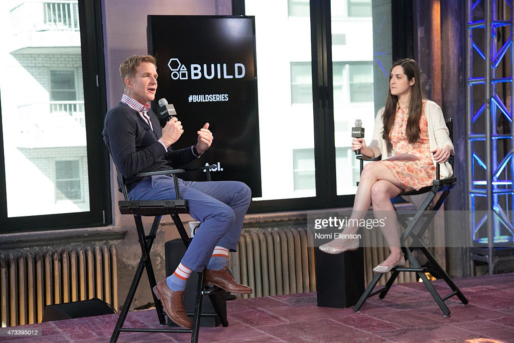 Matthew Modine Visits AOL Build at AOL Studios In New York on May 14, 2015 in New York City.
