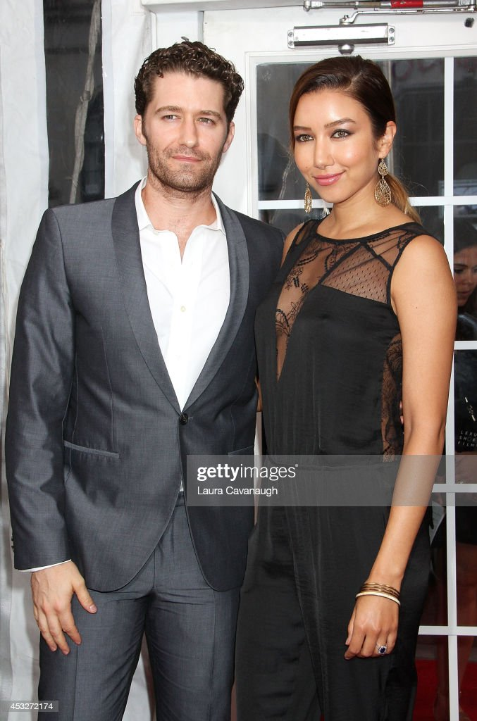Matthew Morrison and Renee Puente attend the 'Life is Amazing' Lexus Short Films Series at SVA Theater on August 6 2014 in New York City