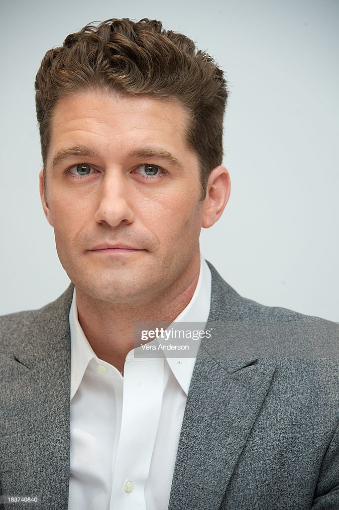 Matthew Morrison at the 'Glee' Press Conference at the Four Seasons Hotel on October 8 2013 in Beverly Hills California