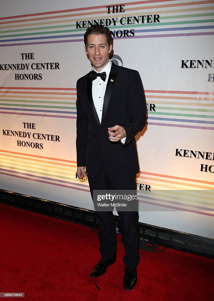 Matthew Morrison attend the 2010 Kennedy Center Honors Ceremomy in Washington DC