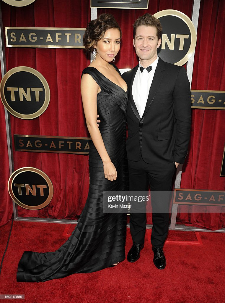 Matthew Morrison attends the 19th Annual Screen Actors Guild Awards at The Shrine Auditorium on January 27, 2013 in Los Angeles, California. (Photo by Kevin Mazur/WireImage) 23116_016_0525.jpg