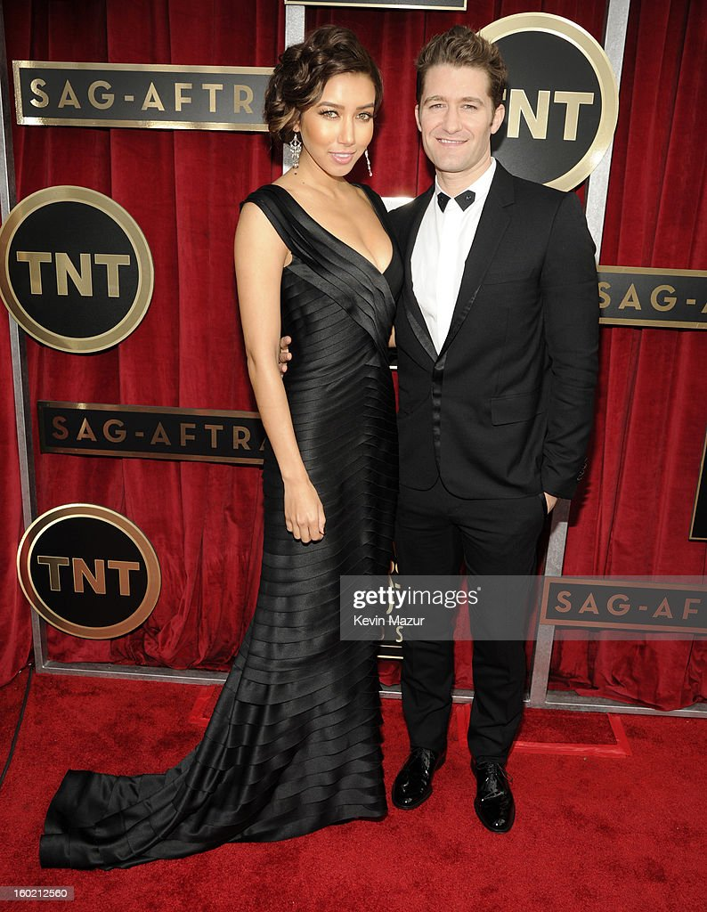Matthew Morrison attends the 19th Annual Screen Actors Guild Awards at The Shrine Auditorium on January 27, 2013 in Los Angeles, California. (Photo by Kevin Mazur/WireImage) 23116_016_0527.jpg