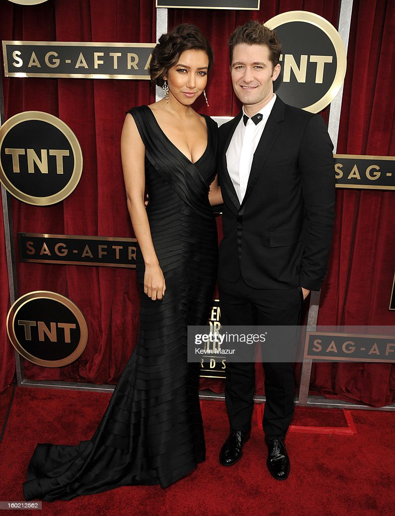 Matthew Morrison attends the 19th Annual Screen Actors Guild Awards at The Shrine Auditorium on January 27, 2013 in Los Angeles, California. (Photo by Kevin Mazur/WireImage) 23116_016_0529.jpg