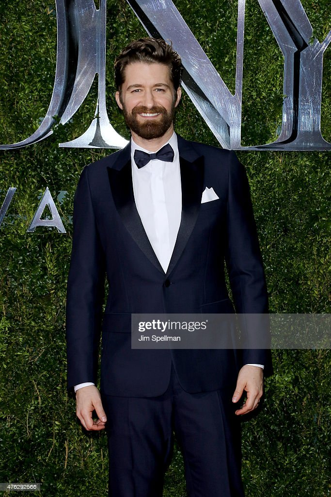 Matthew Morrison attends the American Theatre Wing's 69th Annual Tony Awards at Radio City Music Hall on June 7 2015 in New York City