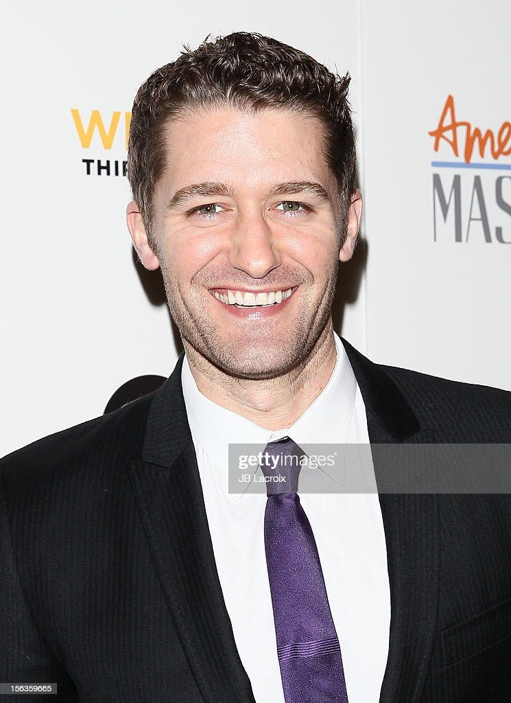 Matthew Morrison attends the 'Inventing David Geffen' Los Angeles Premiere held at Writer's Guild Theater on November 13, 2012 in Los Angeles, California.