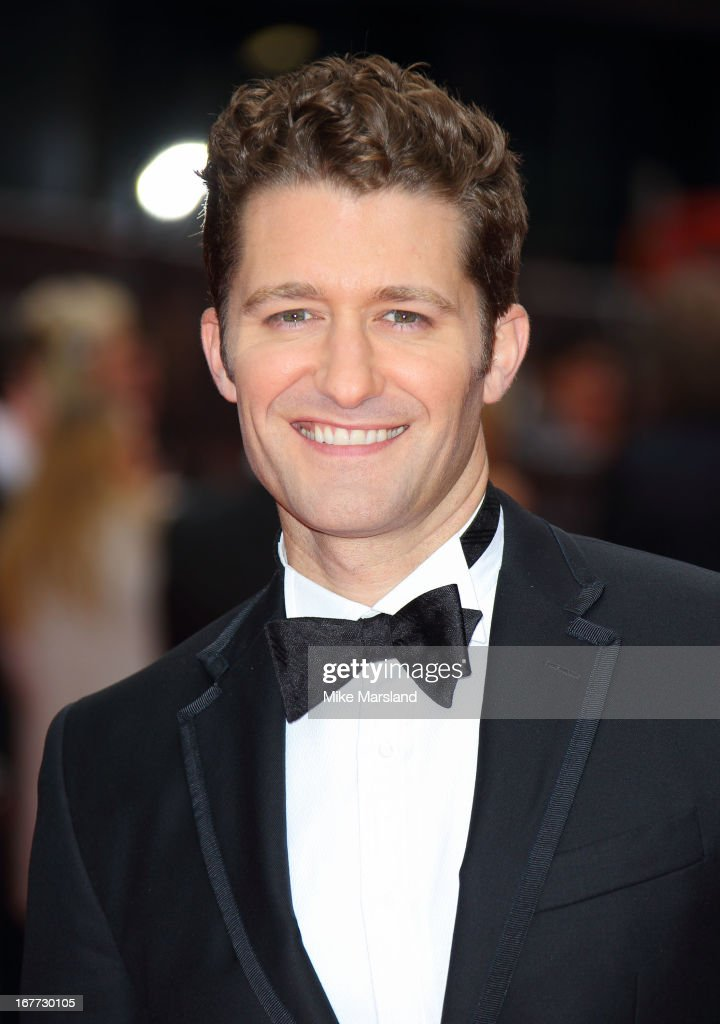 Matthew Morrison attends The Laurence Olivier Awards at The Royal Opera House on April 28, 2013 in London, England.