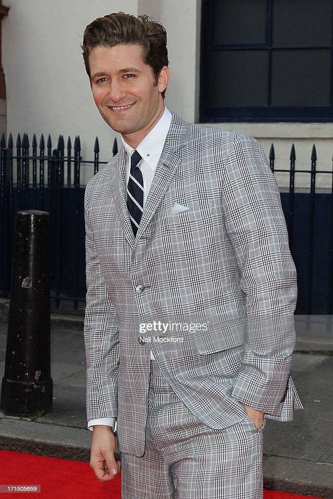 <a gi-track='captionPersonalityLinkClicked' href=/galleries/search?phrase=Matthew+Morrison&family=editorial&specificpeople=171674 ng-click='$event.stopPropagation()'>Matthew Morrison</a> attends the press night for 'Charlie and the Chocolate Factory' at Theatre Royal on June 25, 2013 in London, England.
