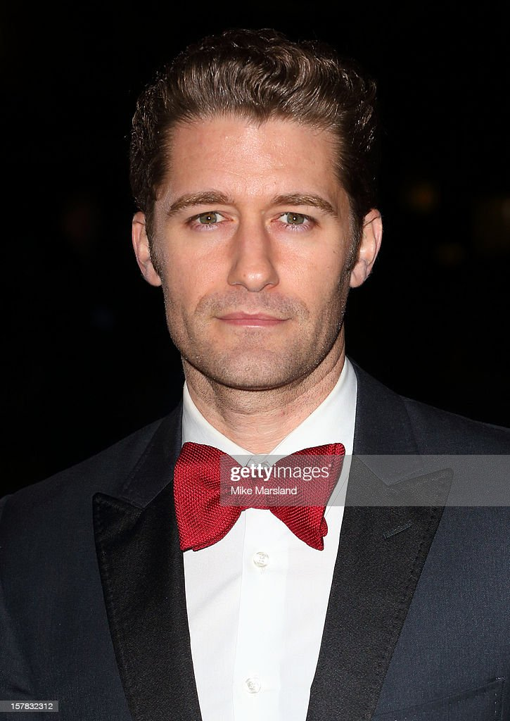 Matthew Morrison attends the Sun Military Awards at Imperial War Museum on December 6, 2012 in London, England.