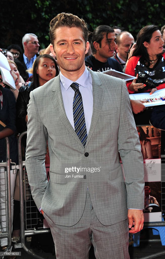 Matthew Morrison attends the UK premiere of What To Expect When You're Expecting at BFI IMAX on May 22, 2012 in London, England.