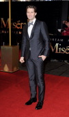 Matthew Morrison attends the World Premiere of 'Les Miserables' at Odeon Leicester Square on December 5 2012 in London England