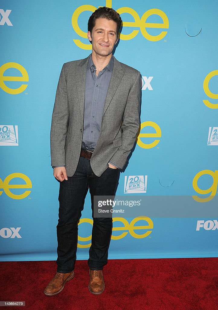 <a gi-track='captionPersonalityLinkClicked' href=/galleries/search?phrase=Matthew+Morrison&family=editorial&specificpeople=171674 ng-click='$event.stopPropagation()'>Matthew Morrison</a> attends TV Academy's special screening of 'GLEE' at Leonard H. Goldenson Theatre on May 1, 2012 in North Hollywood, California.