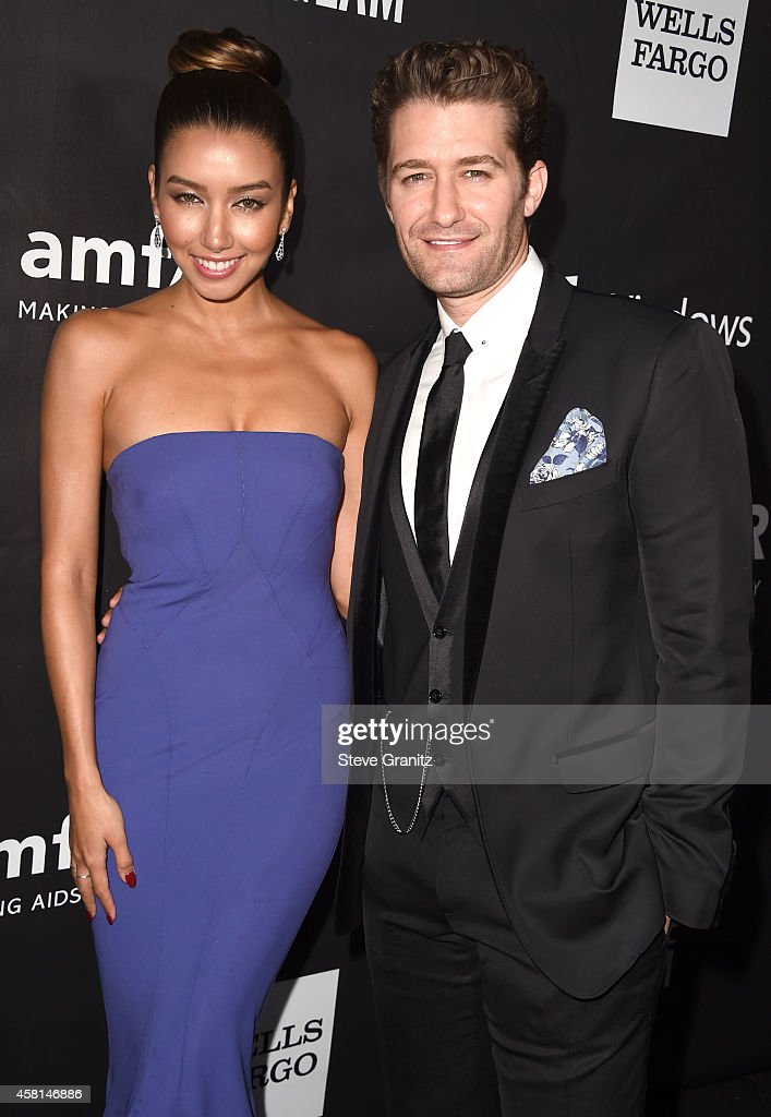 Matthew Morrison Renee Puente arrives at the amfAR LA Inspiration Gala Honoring Tom Ford Hosted By Gwyneth Paltrow at Milk Studios on October 29 2014...