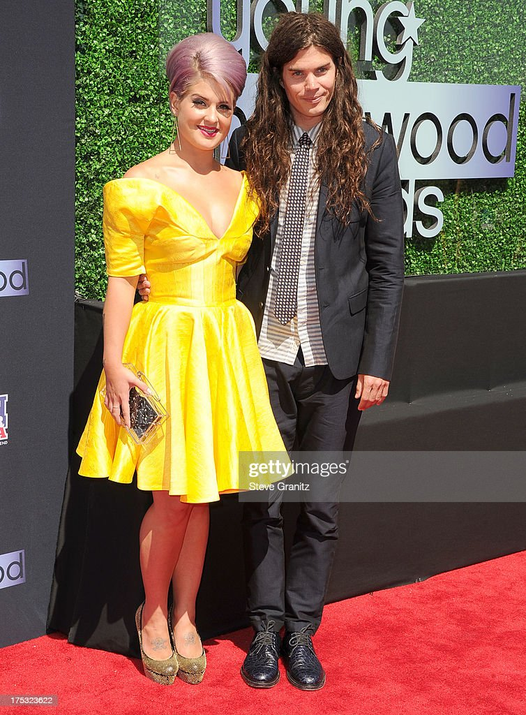 Matthew Mosshart and Kelly Osbourne arrives at the 15th Annual Young Hollywood Award at The Broad Stage on August 1, 2013 in Santa Monica, California.