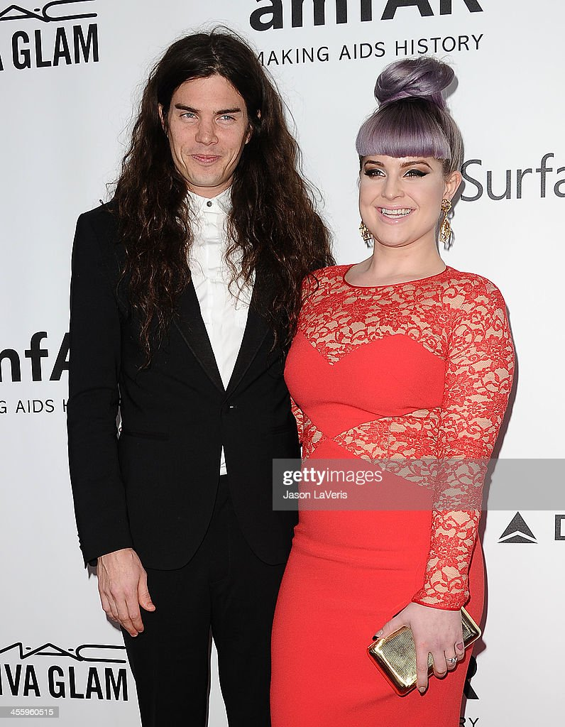 Matthew Mosshart and <a gi-track='captionPersonalityLinkClicked' href=/galleries/search?phrase=Kelly+Osbourne&family=editorial&specificpeople=156416 ng-click='$event.stopPropagation()'>Kelly Osbourne</a> attend the amfAR Inspiration Gala at Milk Studios on December 12, 2013 in Hollywood, California.