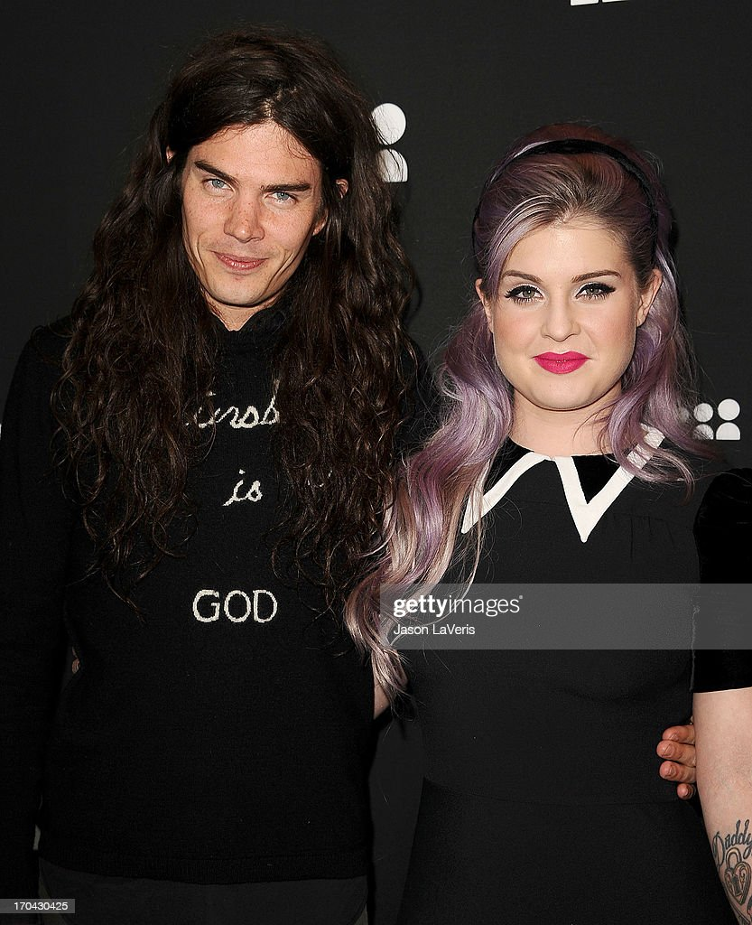 Matthew Mosshart and <a gi-track='captionPersonalityLinkClicked' href=/galleries/search?phrase=Kelly+Osbourne&family=editorial&specificpeople=156416 ng-click='$event.stopPropagation()'>Kelly Osbourne</a> attend the Myspace artist showcase event at El Rey Theatre on June 12, 2013 in Los Angeles, California.