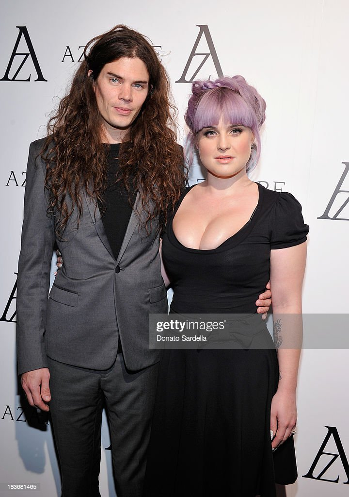 Matthew Mosshart (L) and television personality <a gi-track='captionPersonalityLinkClicked' href=/galleries/search?phrase=Kelly+Osbourne&family=editorial&specificpeople=156416 ng-click='$event.stopPropagation()'>Kelly Osbourne</a> attend The Black Diamond Affair with A Z A T U R E at Sunset Tower on October 8, 2013 in West Hollywood, California.