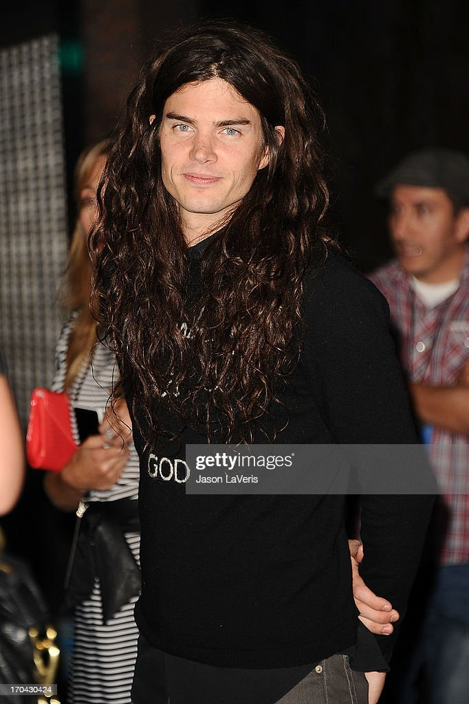 Matthew Mosshart attends the Myspace artist showcase event at El Rey Theatre on June 12, 2013 in Los Angeles, California.