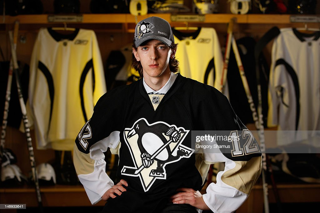 Matthew Murray, 83rd overall pick by the Pittsburgh Penguins, poses for a portrait during the 2012 NHL Entry Draft at Consol Energy Center on June 23, 2012 in Pittsburgh, Pennsylvania.