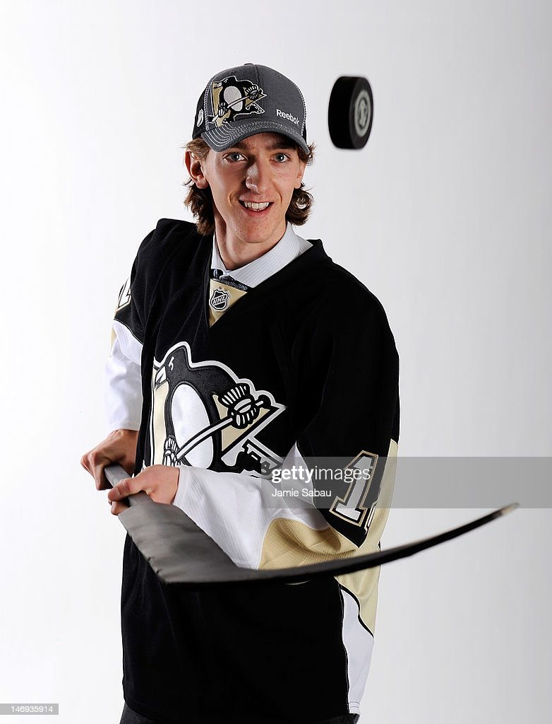 Matthew Murray, 83rd overall pick by the Pittsburgh Penguins, poses for a portrait during Day Two of the 2012 NHL Entry Draft at Consol Energy Center on June 23, 2012 in Pittsburgh, Pennsylvania.