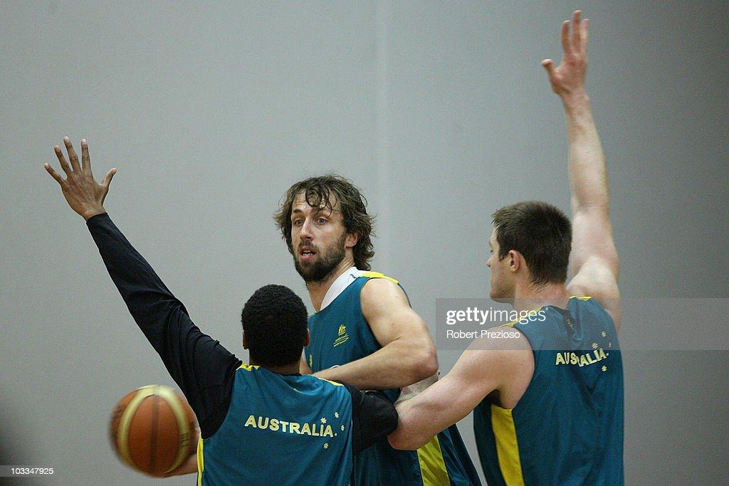 Australian Boomers Training Session