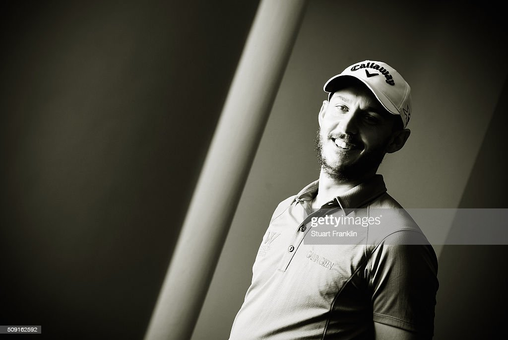 Matthew Southgate of England poses for a picture prior to the start of the Tshwane Open at Pretoria Country Club on February 09, 2016 in Pretoria, South Africa.