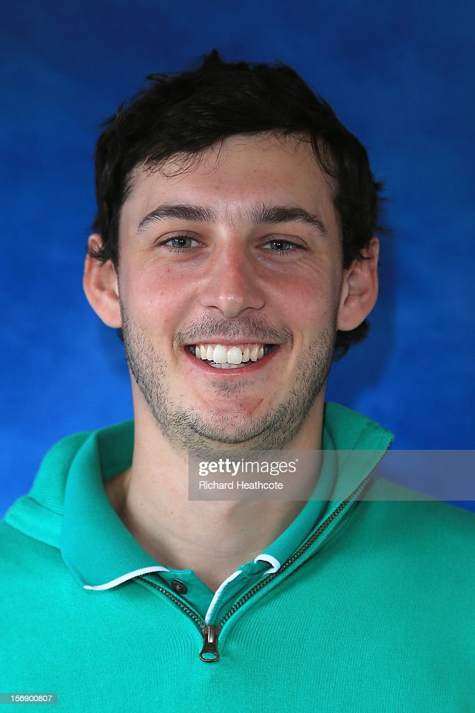 Matthew Nixon of England poses for a portrait after the first round of the European Tour Qualifying School Finals at PGA Catalunya Resort on November 24, 2012 in Girona, Spain.