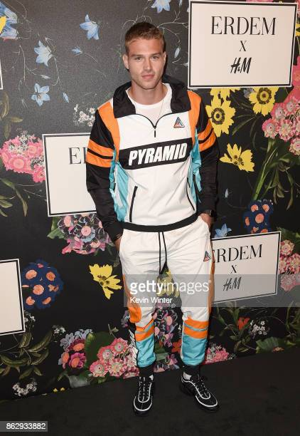 Matthew Noszka at HM x ERDEM Runway Show Party at The Ebell Club of Los Angeles on October 18 2017 in Los Angeles California