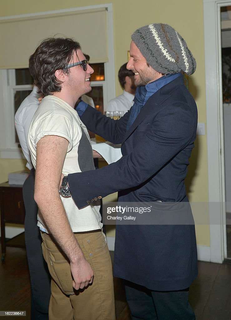 Matthew O. Russell (L) and actor <a gi-track='captionPersonalityLinkClicked' href=/galleries/search?phrase=Bradley+Cooper&family=editorial&specificpeople=680224 ng-click='$event.stopPropagation()'>Bradley Cooper</a> attend the Vanity Fair, Barneys New York and The Weinstein Company celebration of 'Silver Linings Playbook' in support of The Glenholme School on February 20, 2013 in Los Angeles, California