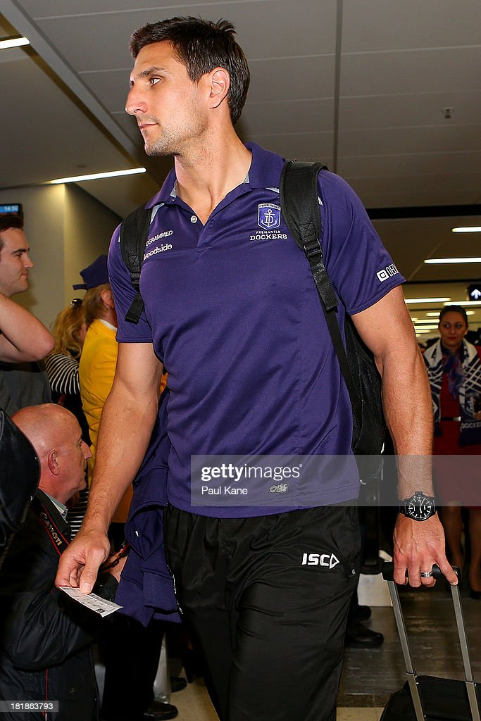 Fremantle Dockers Depart Perth