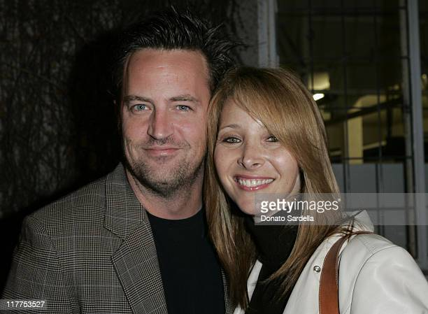 Matthew Perry and Lisa Kudrow during Stars Make Their Voices Heard at a Silent Auction for Lollipop Theater Network at Private Home in Beverly Hills...