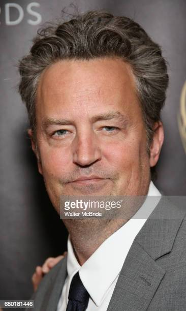 Matthew Perry attend 32nd Annual Lucille Lortel Awards at NYU Skirball Center on May 7 2017 in New York City